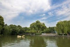 西湖公园,杭州 免版税库存照片
