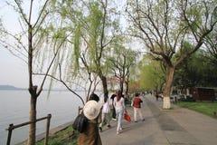西湖文化风景视图 图库摄影