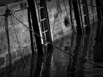 西湾港口Bridport多西特 免版税库存照片