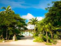西湾Rd房子 免版税图库摄影