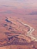 西澳州山  库存照片