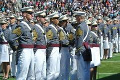 西点军校毕业2015年 免版税库存图片
