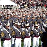 西点军校毕业2015年 免版税库存照片