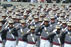 西点军校毕业2015年 库存图片
