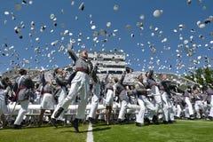 西点军校毕业2015年 免版税图库摄影
