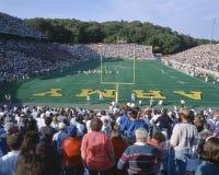 西点的,陆军迈克尔体育场v.拉斐特,纽约 拉斐特,纽约 免版税库存照片