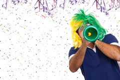 巴西狂欢节噪声 免版税库存照片