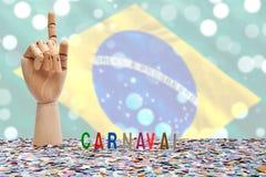巴西狂欢节,第一个 免版税库存照片