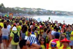 巴西狂欢节 免版税图库摄影
