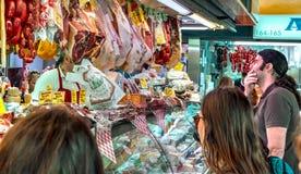 西班牙专业fom Ataranzanas中央的3月顾客 库存图片