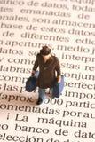 西班牙事业 免版税库存照片