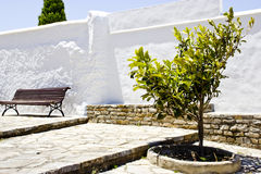 西班牙人典型的村庄 库存图片