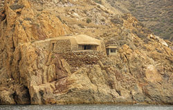 西班牙人南北战争防御,卡塔赫钠 库存图片