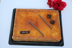 西班牙人蛋糕 库存图片