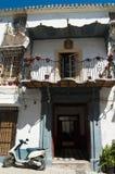 西班牙传统房子 库存照片