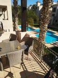 西班牙假日公寓 免版税库存图片