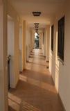 西班牙公寓走廊 免版税库存图片