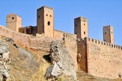 西班牙北部城堡de瓜达拉哈拉molina 免版税图库摄影