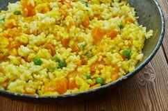 西班牙南瓜肉菜饭, 库存图片
