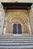 西班牙古老修道院 免版税图库摄影
