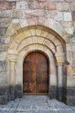 西班牙古老修道院 免版税库存照片