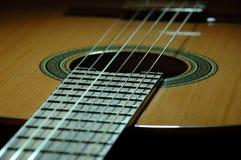 西班牙吉他 免版税图库摄影