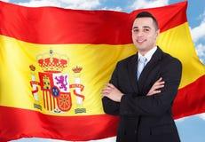 西班牙商人画象  库存图片