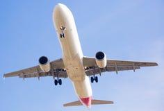 西班牙国家航空飞机着陆 图库摄影