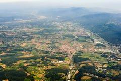 西班牙国家风景 免版税库存图片