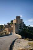 西班牙城堡 免版税库存图片