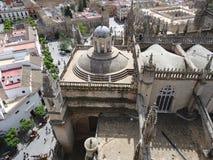 西班牙城堡 免版税图库摄影