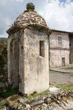 西班牙堡垒的废墟在Portobelo巴拿马 免版税库存图片