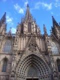 西班牙大教堂 库存照片