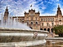 西班牙宫殿 免版税库存图片