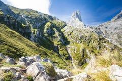 西班牙山风景 免版税库存照片