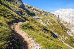 西班牙山风景 库存照片