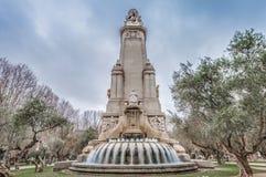 西班牙广场在西班牙首都 库存图片