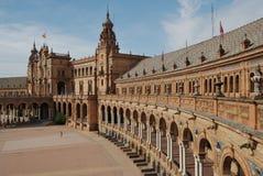 西班牙广场 免版税库存照片