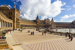 西班牙广场 库存照片