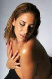 西班牙性感的妇女 库存图片