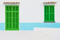 西班牙房子 库存图片