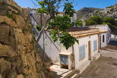 西班牙房子 图库摄影