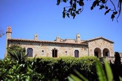 西班牙房子 免版税库存图片