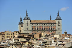 西班牙托莱多视图 免版税库存照片