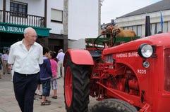 西班牙拖拉机 免版税图库摄影