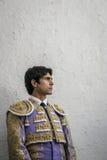 西班牙斗牛士塞巴斯蒂安Castella完全聚焦了momen 库存图片