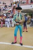 西班牙斗牛士paseillo或最初的丹尼尔卢克 免版税图库摄影