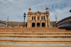 西班牙方形台阶 免版税库存图片