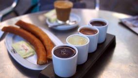 西班牙早餐 免版税图库摄影