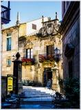 西班牙村庄在巴塞罗那 免版税库存照片